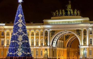 New Year holidays in Saint Petersburg!